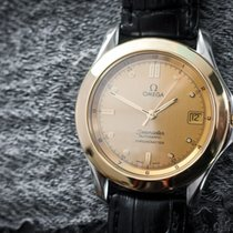 Omega Seamaster Automatic COSC Date Steel/Gold