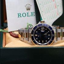 Rolex Submariner Date 16803 Transizionale Blue Dial Full set