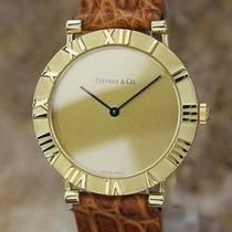 Tiffany & Co Atlas Swiss Made 31mm Luxury 18k Solid Gold...