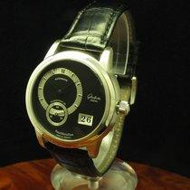 Glashütte Original Panomaticdate 950 Platin Herrenuhr Limitier...