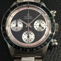 Gevril Rare chronograph limited stainless steel