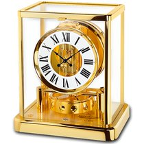 Jaeger-LeCoultre Atmos Classique gold-plated Box+Papers unpacked
