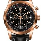 Breitling Transocean Chronograph Unitime Rose Gold