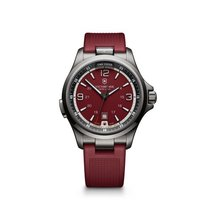 Victorinox Swiss Army Night Vision, date, torch, red dial, red...