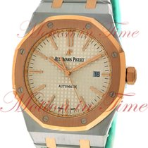 Audemars Piguet Royal Oak Automatic, Silver Dial, Rose Gold...