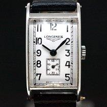 Longines Handaufzug Art Deco White Dial anno 1940