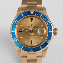 """Rolex Submariner Date """"Aquamarine"""" Bezel - Diamond Dial"""