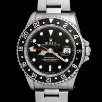 Rolex 16710 Gmt-master II black bezel , oyster, full set