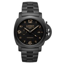 Panerai Luminor 1950 GMT Tuttonero Ceramic PAM00438 PAM 438 NEW
