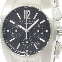 Bulgari Polished  Ergon Chronograph Automatic Steel Unisex...