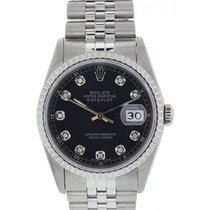 Rolex Oyster Perpetual Datejust 16220 Diamond Dial