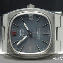 Omega Original Omega Electronic f300 Chronometer with blue...