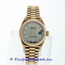 Rolex President Ladies 69178 Pre-owned Diamond Dial