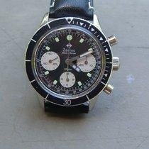 Zodiac Sea Chron Vintage 39mm Valjoux 72 Chronograph