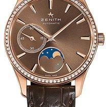 Zenith 22.2310.692/75.C709 Elite Ultra Thin Moonphase Diamond...