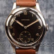 Longines Sei Tacche 1938 Waterproof-style Steel Watch Black...