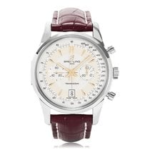 Breitling Transocean Chronograph Stainless Steel Automatic...