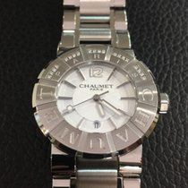 Chaumet Class One stainless steel and diamonds 33mm