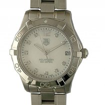TAG Heuer Aquaracer Lady Perlmutt Diamond Stahl Quarz 33mm