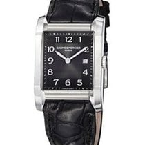 Baume & Mercier Hampton Rectangular Black Opalina Dial