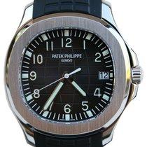 Patek Philippe 5167A-001 Aquanaut 40mm Black Embossed Arabic...