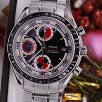 Omega Speedmaster 40mm Chronograph Date Red Black Dial (rare)...