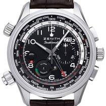 ゼニス (Zenith) El Primero Pilot Doublematic Worldtime Chronograph