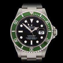 Rolex Submariner Kermit Stainless Steel Gents 16610LV