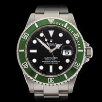 Rolex Submariner Kermit Stainless Steel Gents 16610LV