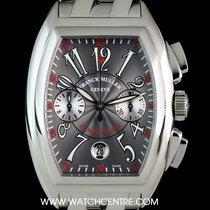 Franck Muller S/Steel Grey Arabic Dial Conquistador Chrono...