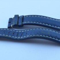 Breitling Leder Armband Band 22mm 22-20 Für Dornschliesse Blau 2