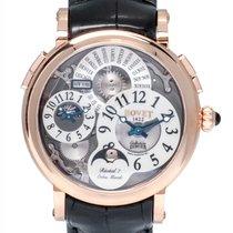 Bovet Dimier Recital 7 Orbis Mundi 18K Rose Gold Men's Watch...