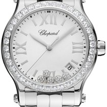 Chopard 278582-3004 Happy Sport Round Quartz in Steel with...