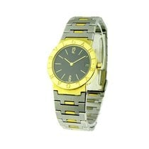 Bulgari BB30 GSD_date - 2-Tone in Yellow Gold - on Steel and...