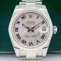 Rolex 178274 Datejust Midsize Oyster Rhodium Roman Dial (26474)