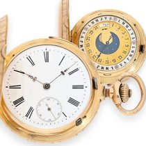 Pocket watch: extremely rare double-sided astronomical...