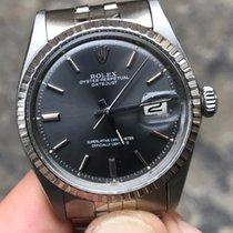 Rolex Datejust (date) Acciaio Plexy 36 mm grey