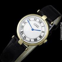 Cartier Must De Vendome Mens Midsize Unisex Vermeil Watch -...