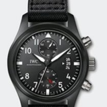 IWC Pilot Chronograph Top Gun Black Ceramic IW388001 (NEW)