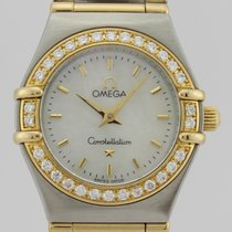 Omega CONSTELLATION DIAMONDS 18k GOLD & STEEL