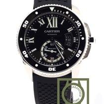 Cartier Calibre de Cartier Diver Black Dial Rubber