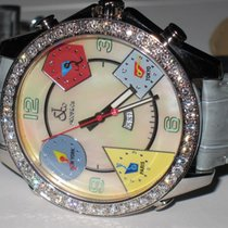 Jacob & Co. JC Five Time Zone 47MM MOP Diamonds