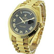 Rolex Unworn 218238 Day-Date II President in Yellow Gold -...