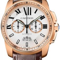 Cartier Calibre de Cartier Chronograph Rose Gold