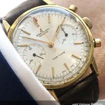 Breitling Gold Plated Genuine Breitling Top Time Chronograph