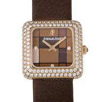 Audemars Piguet Classic Rose Gold and Diamond Quartz Watch...