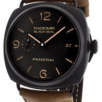 Panerai Radiomir Composite Black Seal 3 Days Auto Men's...