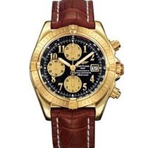 Breitling k1335611/b723-2CT Chronomat Evolution in Yellow Gold...
