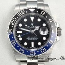 Rolex GMT Master II 116710 BLNR Edelstahl Keramik Automatik Blau