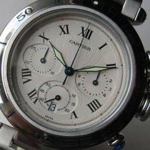 Cartier Pasha 1050 Chronograph 38mm Cal. 053 Quartz Steel